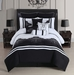 14 Piece Queen Londres Bed in a Bag Set