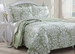 3 Piece King Danneli Sage Quilt Set