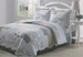 3 Piece King Marianne Quilt Set