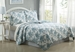 3 Piece Queen Floral Cloud Quilt Set