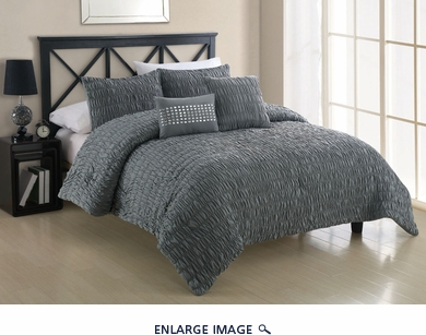 5 Piece Full Empire Dusk Comforter Set