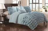 5 Piece King Taylor Cottage Blue Comforter Set