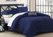 5 Piece Queen Empire Midnight Comforter Set