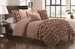 5 Piece Queen Taylor Prairie Wheat  Comforter Set