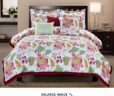6 Piece King Westerly Cotton Comforter Set
