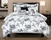 6 Piece Queen Rose Hill Cotton Comforter Set