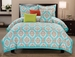 6 Piece Queen Seraphina Cotton Comforter Set
