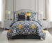 7 Piece Cal King Devotion Print Comforter Set