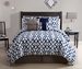7 Piece Cal King Imagine Print Comforter Set