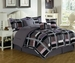 7 Piece Cal King Plethora Comforter Set