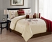7 Piece Cal King Summit Embroidered Comforter Set