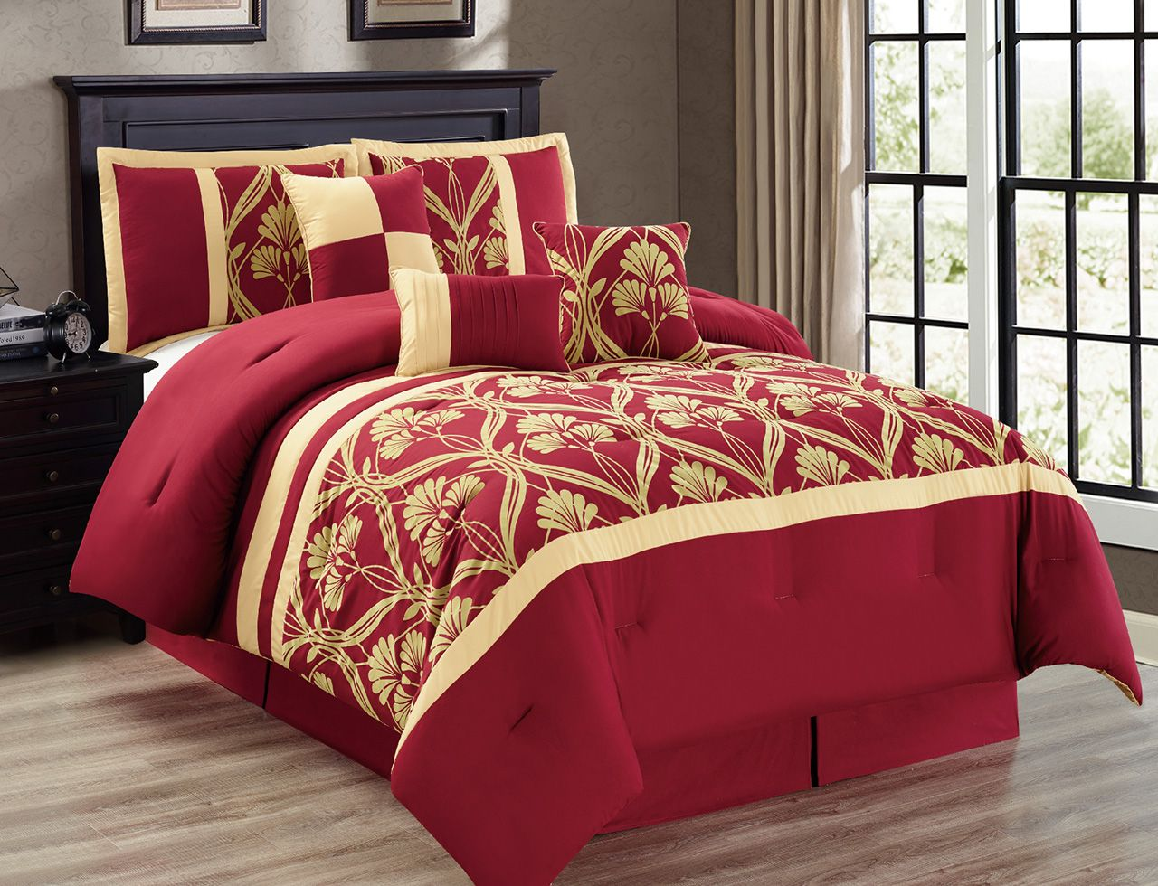 Red And Gold Bedroom Burgundy And Gold Bedroom