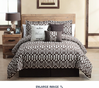 7 Piece Queen Blessed Comforter Set