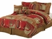 7 Piece Queen Firenze Chenille Comforter Set