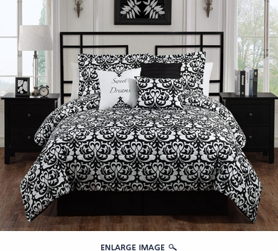 7 Piece Queen Sweet Dreams Comforter Set