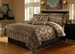 7 Piece Full Leopard Animal Kingdom Bedding Comforter Set