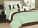7Pcs King Lindenbrook Sage Bedding Comforter Set