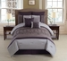 8 Piece Cal King Audrina Comforter Set