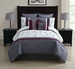 8 Piece Cal King Azalea Comforter Set