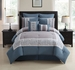 8 Piece Cal King Dorsey Comforter Set