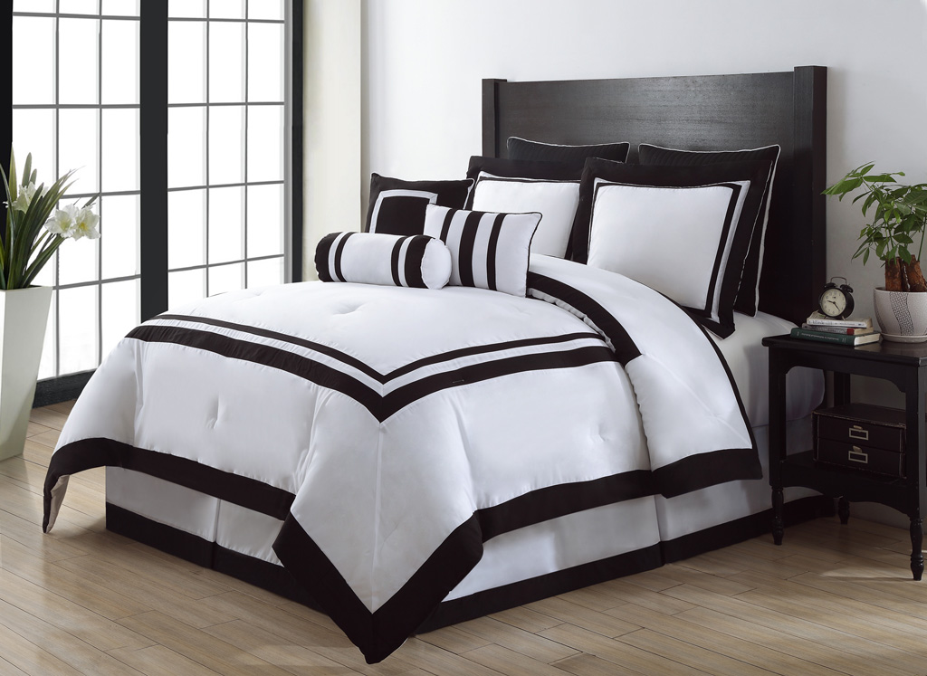 Black and white comforter sets black and white comforter sets pictures