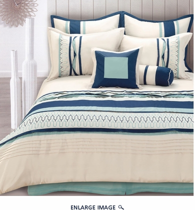 8 Piece King Toni Bedding Comforter Set
