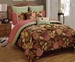 8 Piece Queen Cressona Jacquard Comforter Set