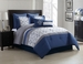 8 Piece  Queen Merrill Comforter Set