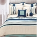 8 Piece Queen Toni Bedding Comforter Set