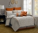 9 Piece Cal King Anderson Embroidered Comforter Set