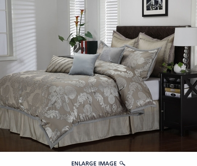 9 Piece Cal King Carlisle Comforter Set