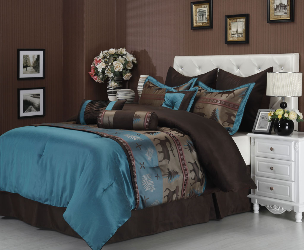 cal king bedding comforter set - California King Bedding Sets