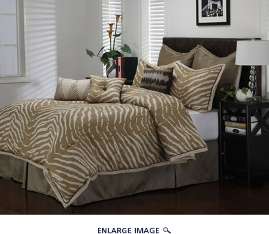9 Piece Cal King Umar Comforter Set