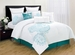 9 Piece King Argusville Embroidered Comforter Set