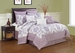 9 Piece King Giverny Cotton Comforter Set