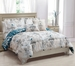 9 Piece King Serenade Reversible Bed in a Bag Set