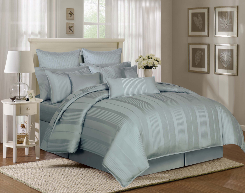 Delightful Images For U003e Light Blue Comforters