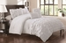 9 Piece Queen Taylor White Bed in a Bag Set