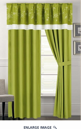 Alina Embroidered Curtain Set