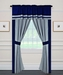 Belmar Curtain Set w/ Valance/ Tiebacks / Sheers