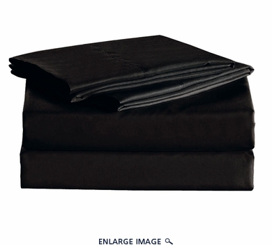 Black Micro Fiber 1600TC Sheet Set Full