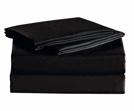 Black Micro Fiber 1600TC Sheet Set Queen