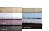 Blue Fog 500 Thread Count Cotton Sateen Sheet Set Twin