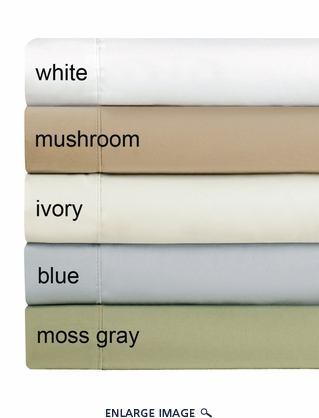 Blue Hotel 800 Thread Count Cotton Sateen Sheet Set King
