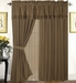 Bronwyn Curtain Set w/ Tassels / Sheers