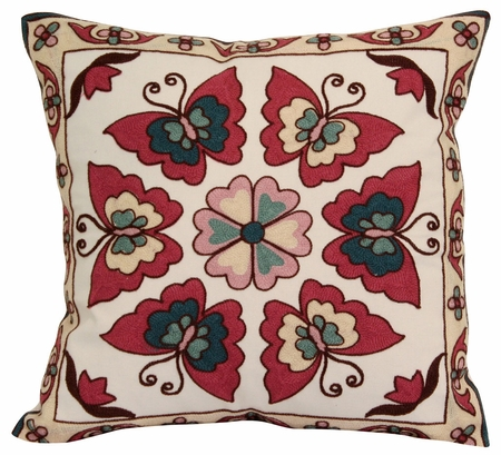 Butterfly Decorative Throw Pillow 18