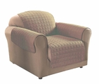 Camel Micro Suede Chair Protector