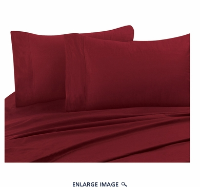 Carmine 300 Thread Count Cotton Sheet Set Cal King