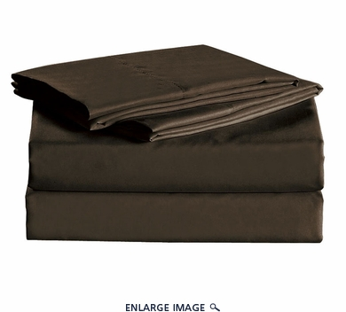 Coffee Micro Fiber 1600TC Sheet Set Queen