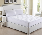 Deluxe Overfilled Ultra Soft Microplush Mattress Pad Twin